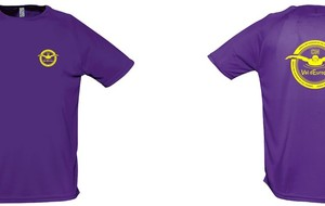 tee-shirt violet CNVDE (adulte uniquement)